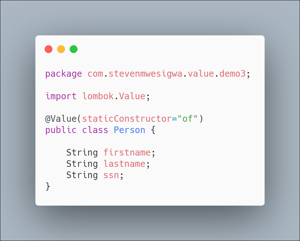 How To Use @Value Annotation With Project Lombok In Java